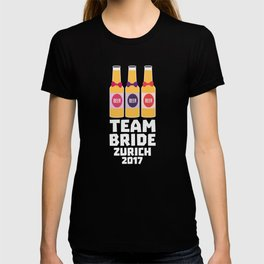 Team Bride Zurich 2017 T-Shirt for all Ages D3483 T-shirt