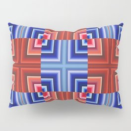 Cuadratura geométrica Pillow Sham