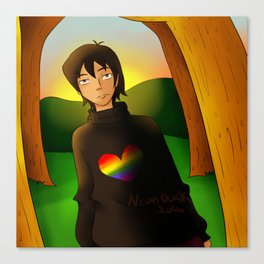Sweater Keith Canvas Print