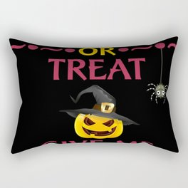 Trick Or Treat Give Me Something Good To Eat Rectangular Pillow