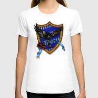 ravenclaw T-shirts featuring Ravenclaw by JanaProject