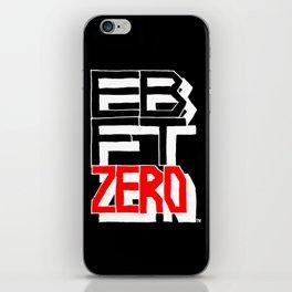 Elegant Battle Face Teenagers Zero Logo iPhone Skin
