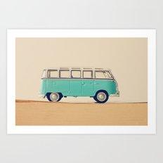 Keep On Running Art Print