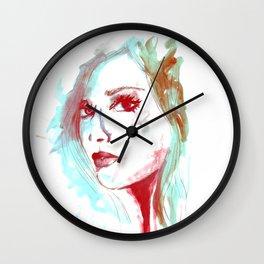 Lady Mint Wall Clock