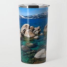 Sand Harbor. Lake Tahoe. Nevada. USA. Travel Mug