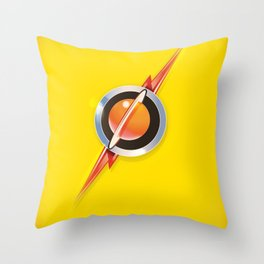 Flash's Broach Throw Pillow