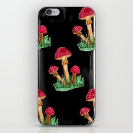 Amanita - wild mushrooms iPhone Skin