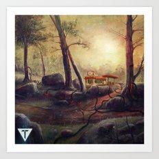 Trove EP w logo Art Print