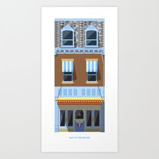 Day at the Movies Art Print