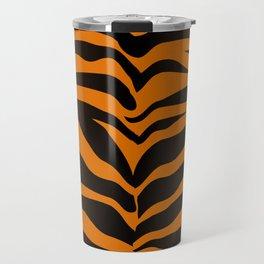 Tiger Skin Pattern Travel Mug