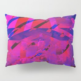 Clouds Mingle with Lines Pillow Sham