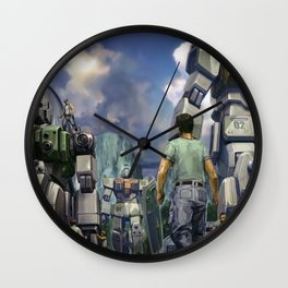 Gundam Wall Clock