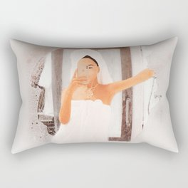 Weekend Morning I Rectangular Pillow