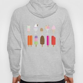 Food Series - Ice Cream and Popsicles Hoody