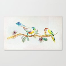 When Love Was Spring Canvas Print