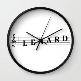 Name Lenard Wall Clock