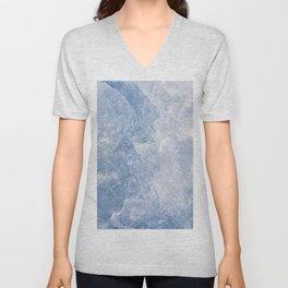 Abstract Ice Texture Unisex V-Neck