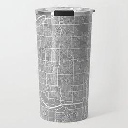 Plano map grey Travel Mug