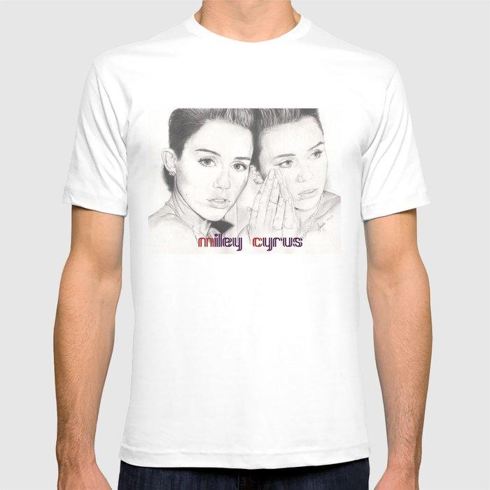 miley vs. miley T-shirt
