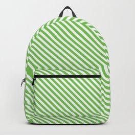 Green Flash Stripe Backpack