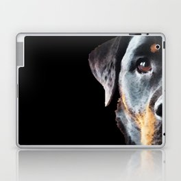 Rottie Love - Rottweiler Art By Sharon Cummings Laptop & iPad Skin