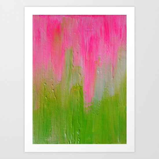 Watermelon Sunrise Art Print