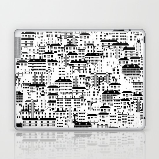 Shanghai wallpaper Laptop & iPad Skin