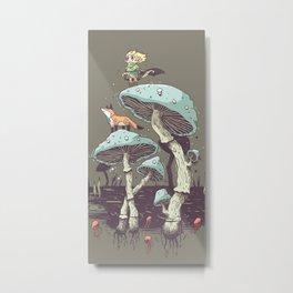 Elven Ranger Metal Print
