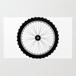 Bicycle Wheel Rug