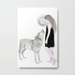 Shining Star Metal Print
