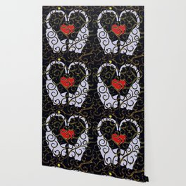 "KARAKUSA CAT'S ""LOVE"" Wallpaper"