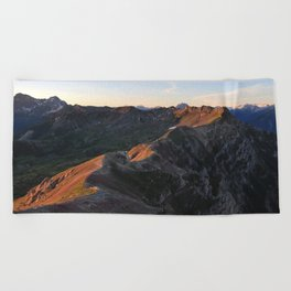 The Light Path Beach Towel