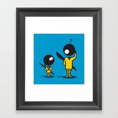 Bic Ninja Framed Art Print