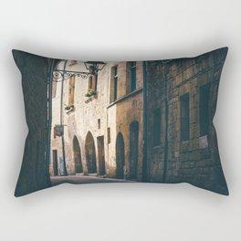 Old World Streets of Sarlat Rectangular Pillow