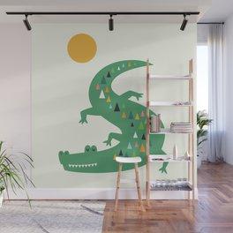 Sunbathing Wall Mural