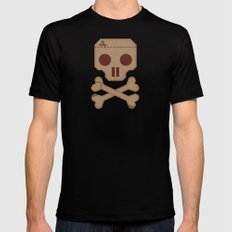 Paper Pirate Black Mens Fitted Tee MEDIUM