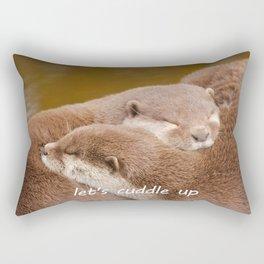 Let's Cuddle Up Rectangular Pillow