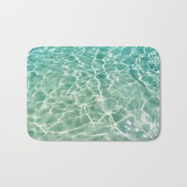 Clear Ocean Water Bath Mat