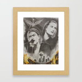 Frances Farmer Will Have Her Revenge On Seattle Framed Art Print