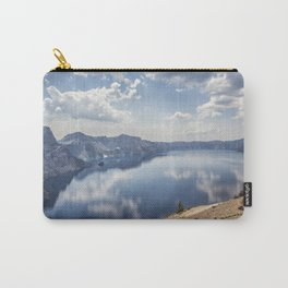 Crater Lake with a view of the Phantom Ship Carry-All Pouch