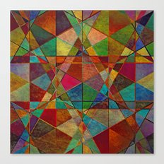 The Beauty of Geometry 5 Canvas Print
