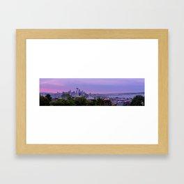 Sunrise Seattle, Washington Framed Art Print