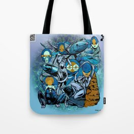 The Hyoeperian Water Tribe of The Northern Atlantean Seas Tote Bag