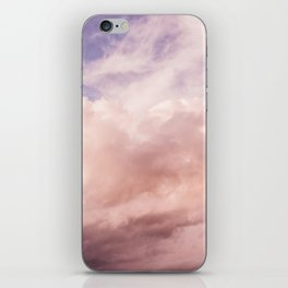 Perfect Pink Summer Sky Nature Photography iPhone Skin