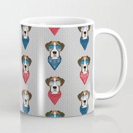 boxer bandana summer dog breed gifts pure breed pets Coffee Mug