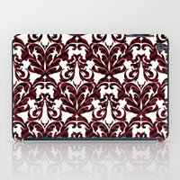 damask iPad Cases featuring Damask by Annie Skrmetti