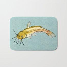 Mélancolie marine – Poisson chat Bath Mat