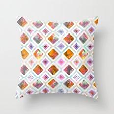 Aztec Sunrise Throw Pillow