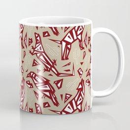 Spirit Animals Desert - Coyote - Raven - Lizard Coffee Mug