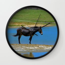 The Horse Wall Clock